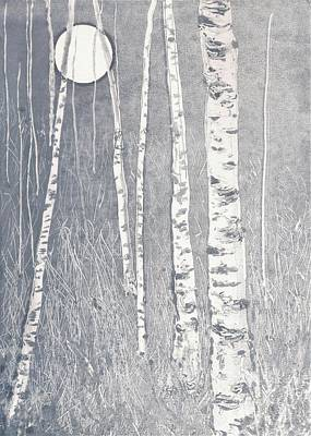 Night Watchmen Art Print by Lisa Le Quelenec
