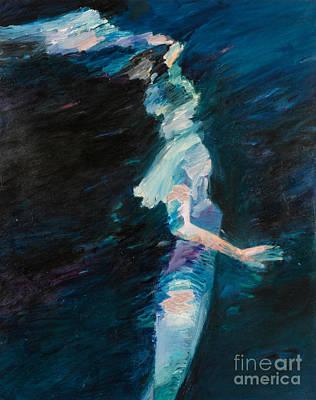 Night Water Art Print by Lisa Baack