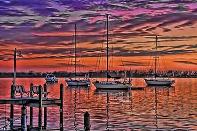 Photograph - Night Whispers 2 by HH Photography of Florida