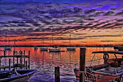 Photograph - Night Whispers By H H Photography Of Florida by HH Photography of Florida
