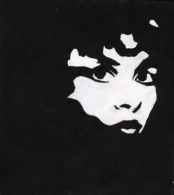 Stevie Nicks Drawing - Nightbird2 by Michelle Kinzler