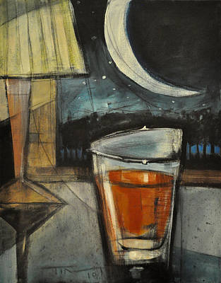 Painting - Nightcap by Tim Nyberg