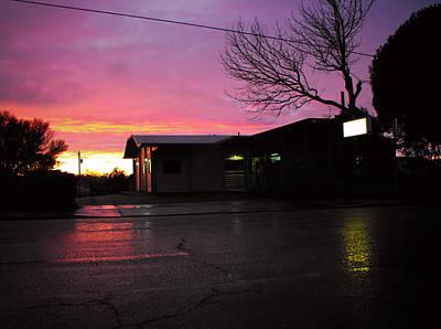 Photograph - Nightfall by Adria Trail
