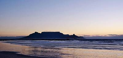 Photograph - Nightfall Over Table Mountain by Werner Lehmann