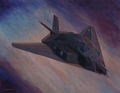 Painting - Nighthawk At Night by Douglas Castleman