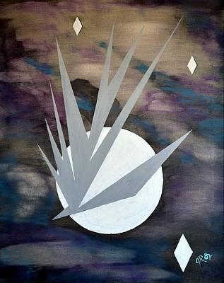 Painting - Nighthawke 2 by J R Seymour