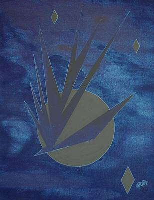 Digital Art - Nighthawke Variation by J R Seymour
