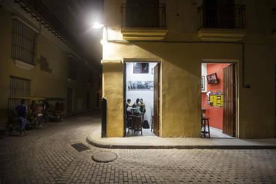 Photograph - Nighthawks In Havana by Al Hurley