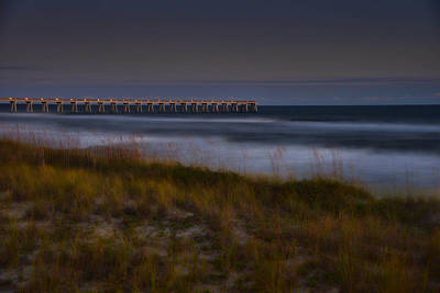 Photograph - Nightlife By The Sea by Renee Hardison
