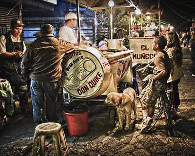 Nightlife In Guatemala Art Print