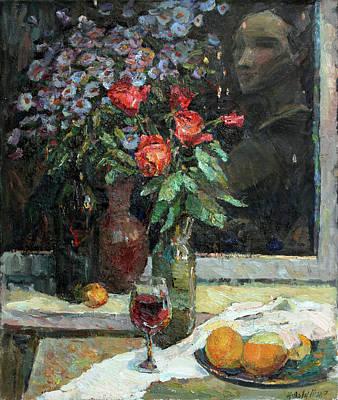 Painting - Nightlife by Juliya Zhukova