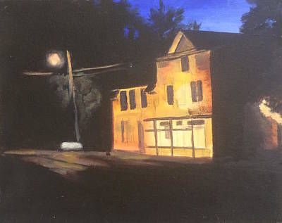 Painting - Nightlight  by Sarah Vandenbusch