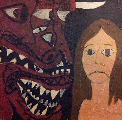 Nightmare 2 Art Print