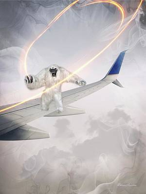 Digital Art - Nightmare At 20 Thousand Feet by Ericamaxine Price