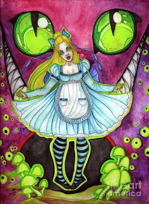 Nightmare Art Print by Coriander Shea