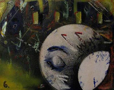 Nightmare In Times Square Art Print by Andrea Noel Kroenig