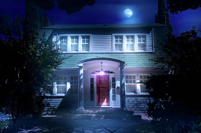 Haunted House Photograph - Nightmare On Elm Street by Mark Andrew Thomas