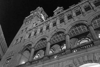 Nights At Main Street Station Art Print
