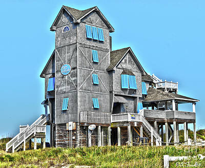 Richard Gere Photograph - Nights In Rodanthe House by Rod Farrell