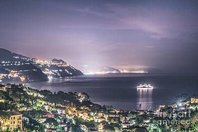 Photograph - Nights In The Harbor by Evelina Kremsdorf
