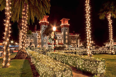 Photograph - Nights Of Lights, Lightner Museum by Stacey Sather