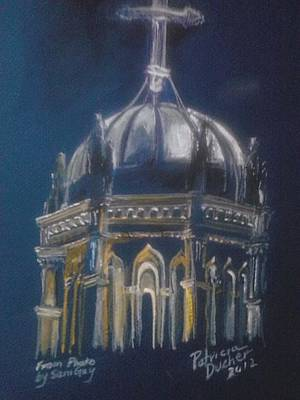 Of St. Augustine Painting - Nights Of Lights Presbyterian Memorial Church  by Patricia Ducher