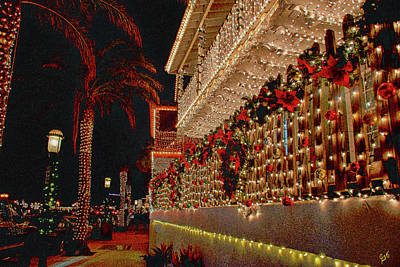 Photograph - Nights Of Lights Saint Augustine by Gina O'Brien