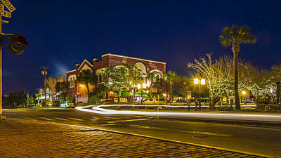 Photograph - Nights In Fernandina Beach by Paula Porterfield-Izzo