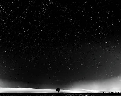 Photograph - Nightscape by Motty Henoch