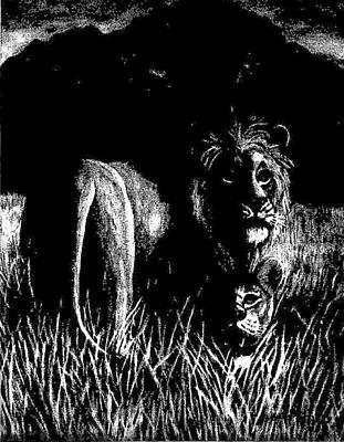 Nightshade Art Print by George I Perez