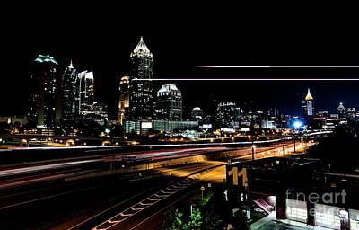 Photograph - Nighttime In Atlanta by David Bearden