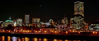 Photograph - Nighttime In Pdx by Albert Seger