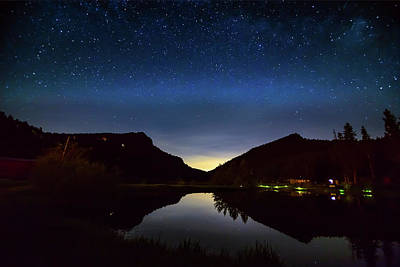 Photograph - Nighttime Reflections Layers by James BO Insogna