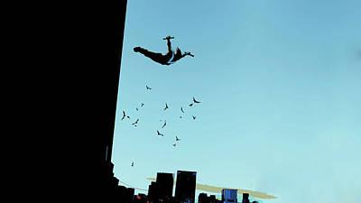 Digital Art - Nightwing by Super Lovely