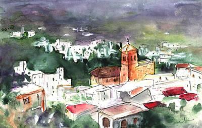 Painting - Nijar Panoramic by Miki De Goodaboom