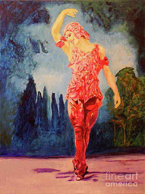 Artists Painting - Nijinsky  by Debbie Davidsohn