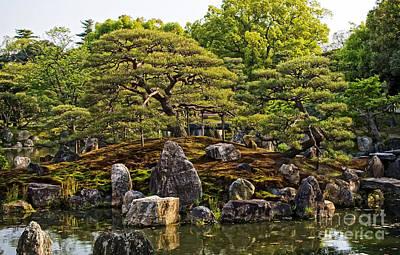 Photograph - Nijo Castle Gardens Kyoto Japan by Waterdancer