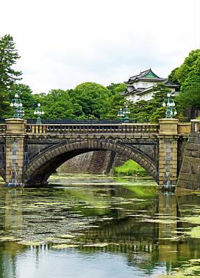 Photograph - Nijubashi Bridge Study 3 by Robert Meyers-Lussier