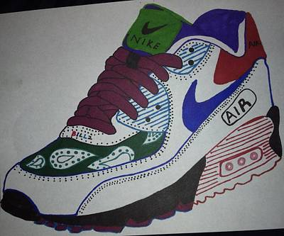 Nike Air Max Art Print by Billz Williams