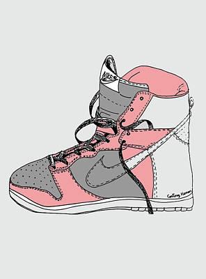Nike Dunk 005 Art Print