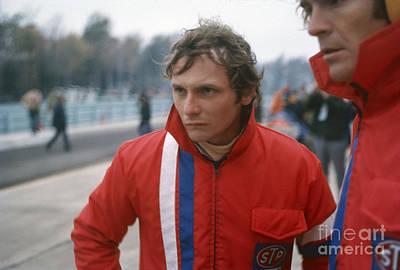 Niki Lauda. 1972 United States Grand Prix Print by Oleg Konin