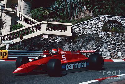 Photograph - Niki Lauda. 1979 Monaco Grand Prix by Oleg Konin