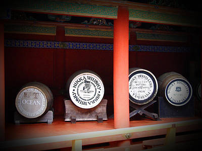 Old Barrels Photograph - Nikka Whiskey by Naxart Studio
