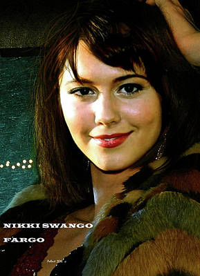 Nikki Swango, Fargo Season 3, Mary Elizabeth Winstead, Passion For Competitive Bridge Art Print