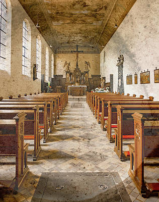 Photograph - Juchen, Germany - Nikolauskloster Church by Mark Forte