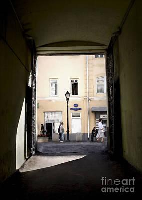 Photograph - Nikolskaya Street by Elena Nosyreva