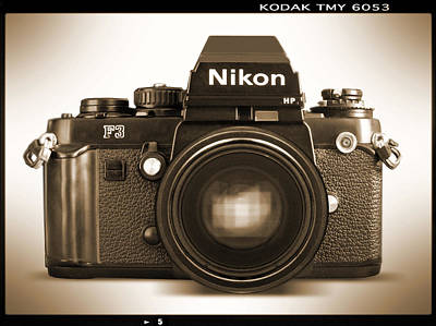 Nikon F3 Hp Print by Mike McGlothlen