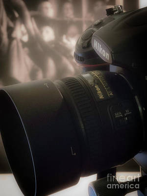 Photograph - Nikon Prime Lens - 50mm by Fred Lassmann