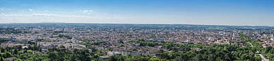 Photograph - Nimes Panoramic  by Scott Carruthers