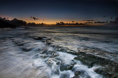 Photograph - Nimitz Beach Sunrise by Tin Lung Chao